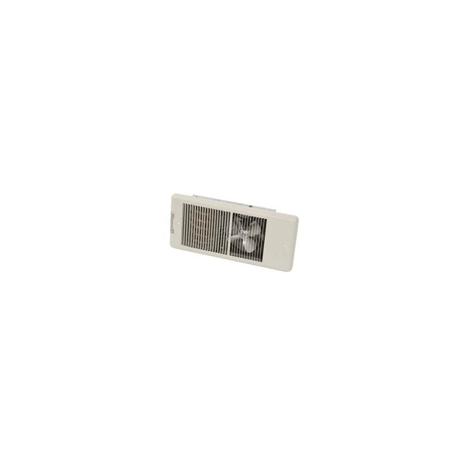 Tpi Low Profile Commercial Fan Forced Wall Heater F4320   2000w 208v Ivory
