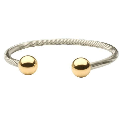 Sabona Wire Magnetic Bracelet Two Tone – S/M