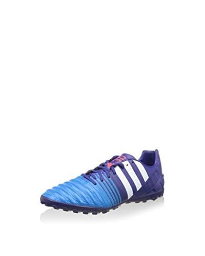 ADIDAS Botas de fútbol Nitrocharge 3.0 Tf Azul / Turquesa