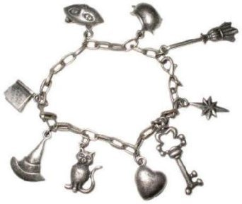 Adult Book of Charms Charm School Witch Costume Bracelet