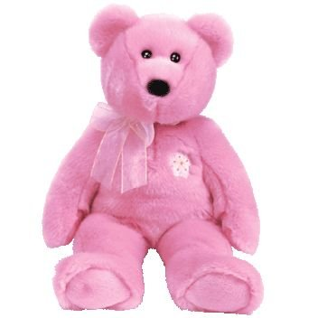 1 X Ty Beanie Buddy Sakura the Bear - 1