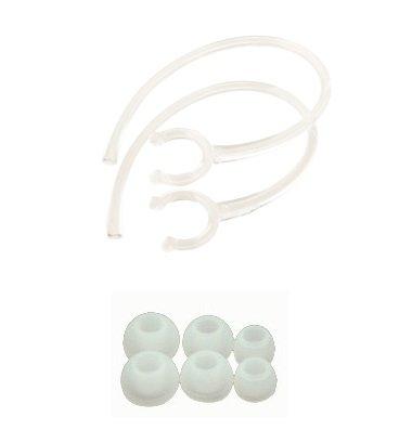 Glcon® Mini Black Wireless Stereo Bluetooth Bt Headset Earbud Ear Hook And Ear Gel