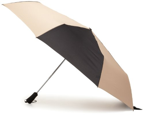 Totes Men's Blue Line Golf-Size Auto Open Auto Close Compact Umbrella