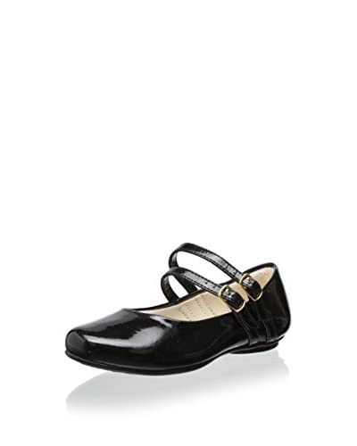Pampili Kid's Double Strap Mary Jane  [Preto]