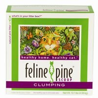 Feline Pine Scoop Cat Litter, 10.1-Pound Box