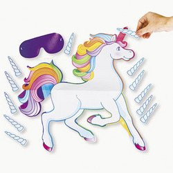 Fun-Express-Pin-The-Horn-On-The-Unicorn-Party-Game