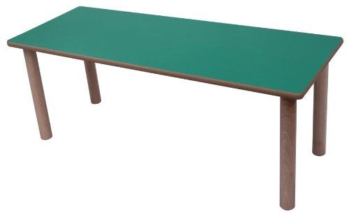 Tisch Kidz Pro Beistelltisch, 120 x 45 cm, verschiedene Farben und Höhen H 40 cm hellgrün