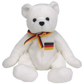 TY Beanie Baby - JURGEN the Bear (Europe Exclusive) [Toy]