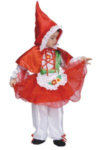 Little Red Riding Hood Child Halloween Costume Size 2T Toddler