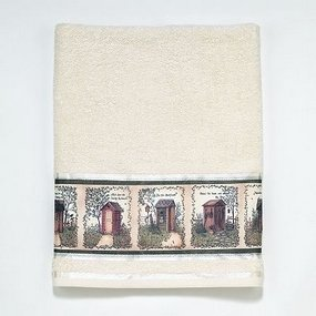 Outhouses Country Bath Towel