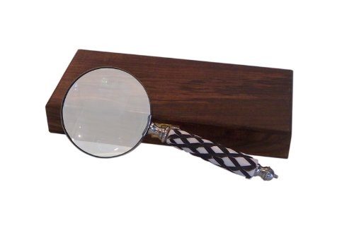 Nantucket Brand 681 Magnifying Glass with Engraved Check Handle