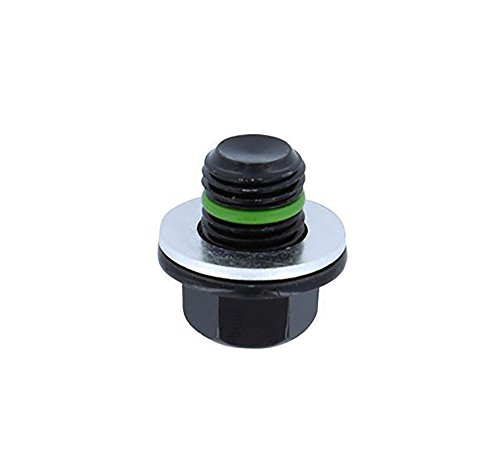 SMART-O R1 Oil Drain Plug M12x1.25mm - Engine oil Pan Protection Plug with high-performance sealing technology, patented anti-leak and anti-vibration mechanism (Oil Pan Nissan Murano 2007 compare prices)