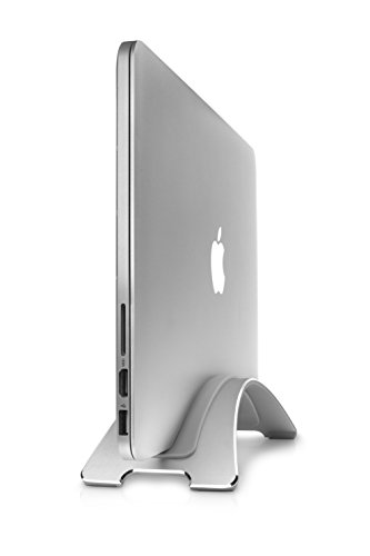 Buy Bargain Twelve South BookArc for MacBooks, silver | Space-saving vertical desktop stand for Appl...