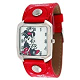 Disney Minnie Mouse Red Band Watch #23935 - Minnie Watch