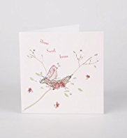New Home Pink Nest Greeting Card