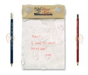 Aqua Love Notes - Waterproof Notepad (Shower Notepad compare prices)