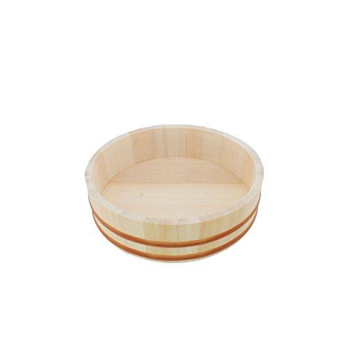 BambooMN 10.6″ Sushi Oke Tub (Hangiri) 19 Pieces Sushi Making Accessory Pack