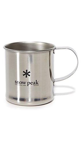 Snow Peak Men's Stainless Steel Mug, Silver, One Size (Snow Peak Travel Mug compare prices)