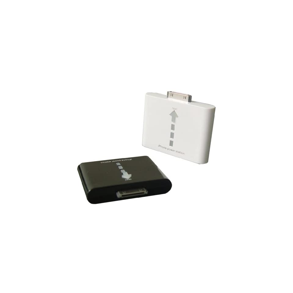 Colorfulworldstore Portable Power Station 1000mAh Rechangerable Lithium ion battery for iPhone4&IPod 5th