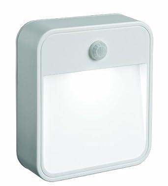 mr beams mb720 led nachtlicht bewegungsmelder batteriebetrieb wei beleuchtung. Black Bedroom Furniture Sets. Home Design Ideas