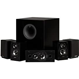 Energy 5.1 Take Classic Home Entertainment System (Set of Six, Black)