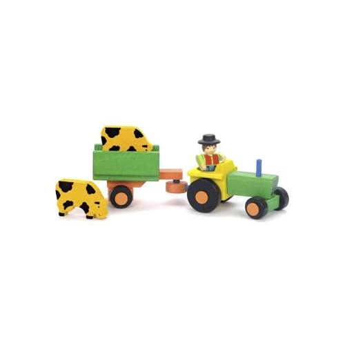 Jeujura-Tractor-and-Trailer-Toy-With-Accessories