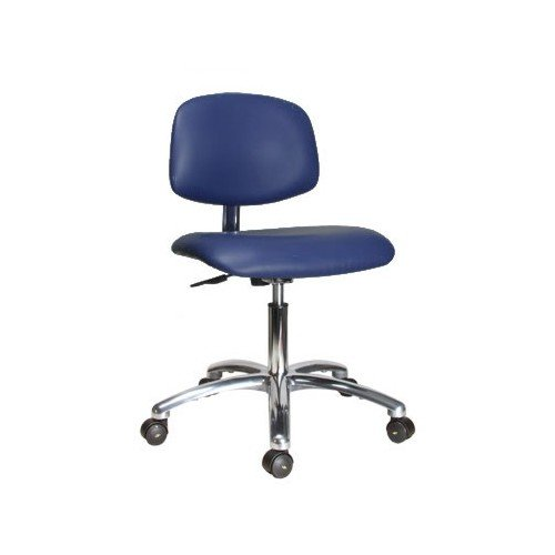 Perch Electro-static Dissipating (ESD) Cleanroom Chair 17 - 22 blue bar chairs furniture shop ktv music art museum teaching stools free shipping furniture retail wholesale household chair