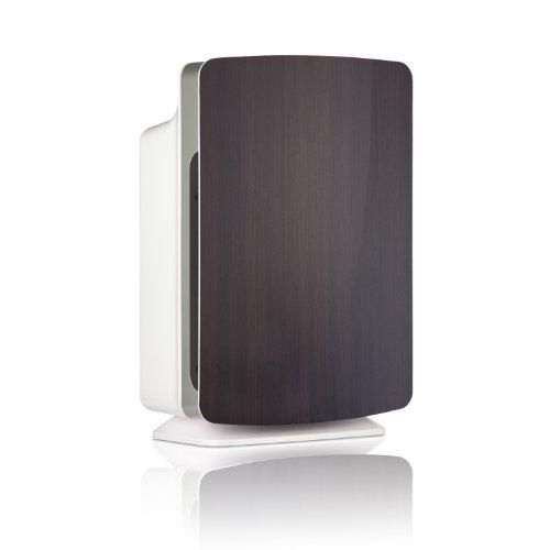 Alen Breathesmart Hepa Air Purifier With Espresso Wood Grain Front Cover front-609613
