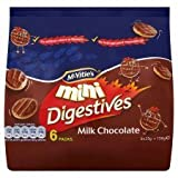 McVitie's Mini Digestives Milk Chocolate 6 Pack 150G