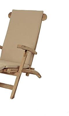SAM® Stuhlauflage für Deckchair, Liegestuhl, Sonnenstuhl, in beige von SAM® bei Gartenmöbel von Du und Dein Garten