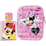 MINNIE MOUSE by Disney SET-EDT SPRAY 1.7 OZ & SMALL METALIC BOX