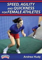 Buy Andrea Hudy: Speed, Agility and Quickness for Female Athletes (DVD) by Championship Productions