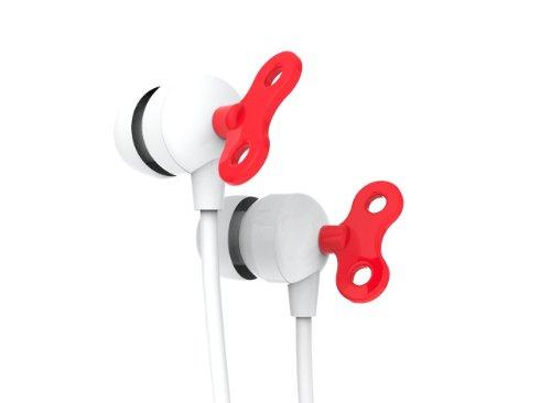 Kikkerland Us041 Robot Key Earbuds