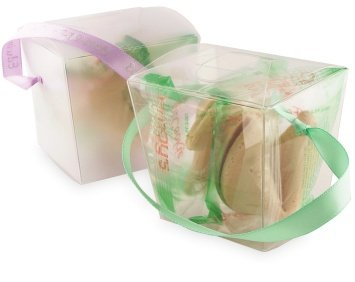 Asian Wedding Favors: Fortune Cookies in Takeout Box