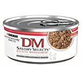 Purina Dm Savory Selects Dietetic Management Cat Food 24 5.5 oz Cans