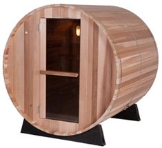 Almost Heaven Barrel Outdoor Sauna 6'
