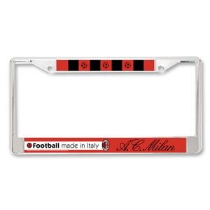 AC Milan Metal License Plate Frame