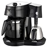 Morphy Richards Mr Cappuccino 47008 Filter Coffee Maker with Milk Frother