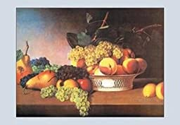 12 X 18 Stretched Canvas Poster Still Life with Fruit