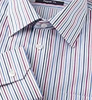 Pure Cotton Easy to Iron Multi-Striped Shirt