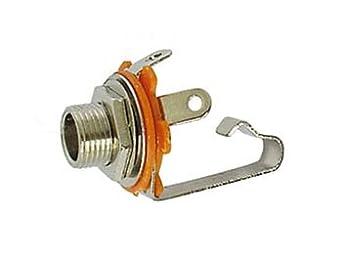 "Velleman CA039 1/4"" MONO JACK CHASIS OPEN CIRCUIT: Miniature Circuit"