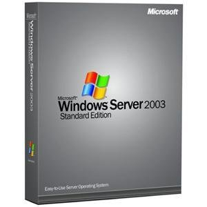 Microsoft Windows Server Standard 2003 R2 5 Client [Old Version]