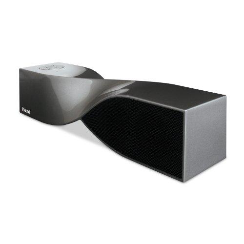 Isound Twist Bluetooth Wireless Mobile Speaker (Glossy Graphite)