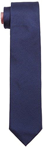 Tommy Hilfiger Tailored Herren Krawatte Tie 7.5cm TTSSLD16202, Einfarbig, Gr. One size, Blau (429) Picture