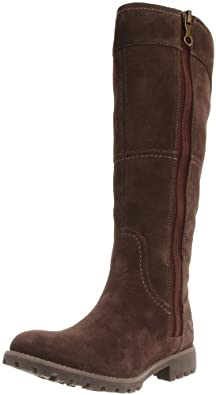 (暴跌)天伯伦Timberland Women's Willis Tall Boot 女子高筒靴 多色$121.5曲线未变