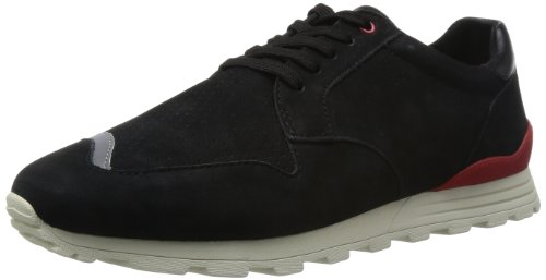 Clae Mens Nathan Black Nubuck 10 Boots Sneakers CLA01283