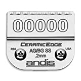 ANDIS Ceramic Edge One Set Blade Size 00000 (1/125 inch/0.2 mm) (Model:64730)