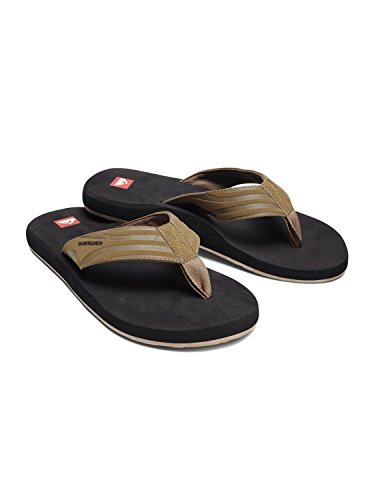Quiksilver Men'S Monkey Wrench 2 Beach Sandal,Taupe,13 M Us front-1024869