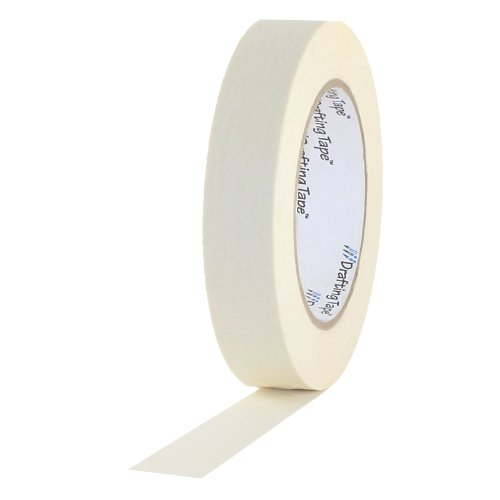 ProTapes Pro Drafting Flatback Paper Industrial Grade Masking Tape, 60 yds Length x 3/4 Width (Pack of 48) (Tamaño: 3/4 Width)