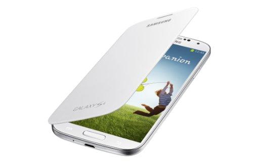 Samsung Galaxy S4 Flip Cover Folio Case (White) (Galaxy 4s Cover compare prices)
